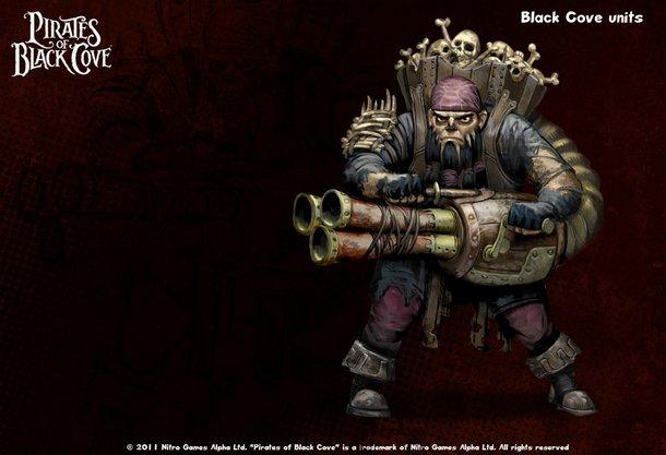 Дистациооный юнит фракции Пираты Черной Бухты