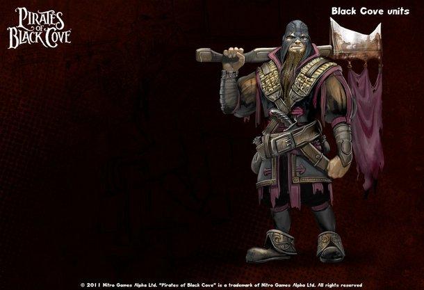 Командир отряда фракции Пираты Черной Бухты