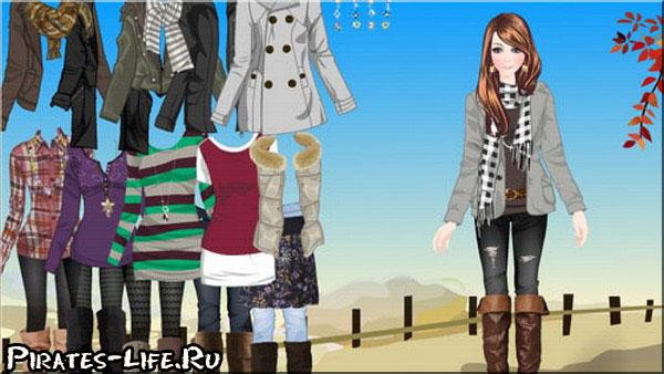 играть онлайн одевалки