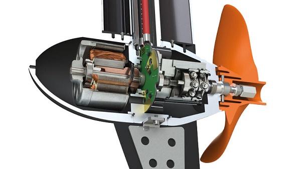 конструкция лодочного электромотора