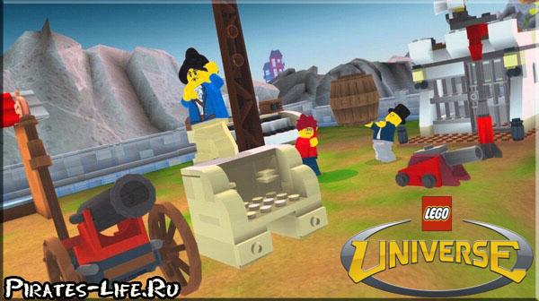 Бесплатная LEGO Universe