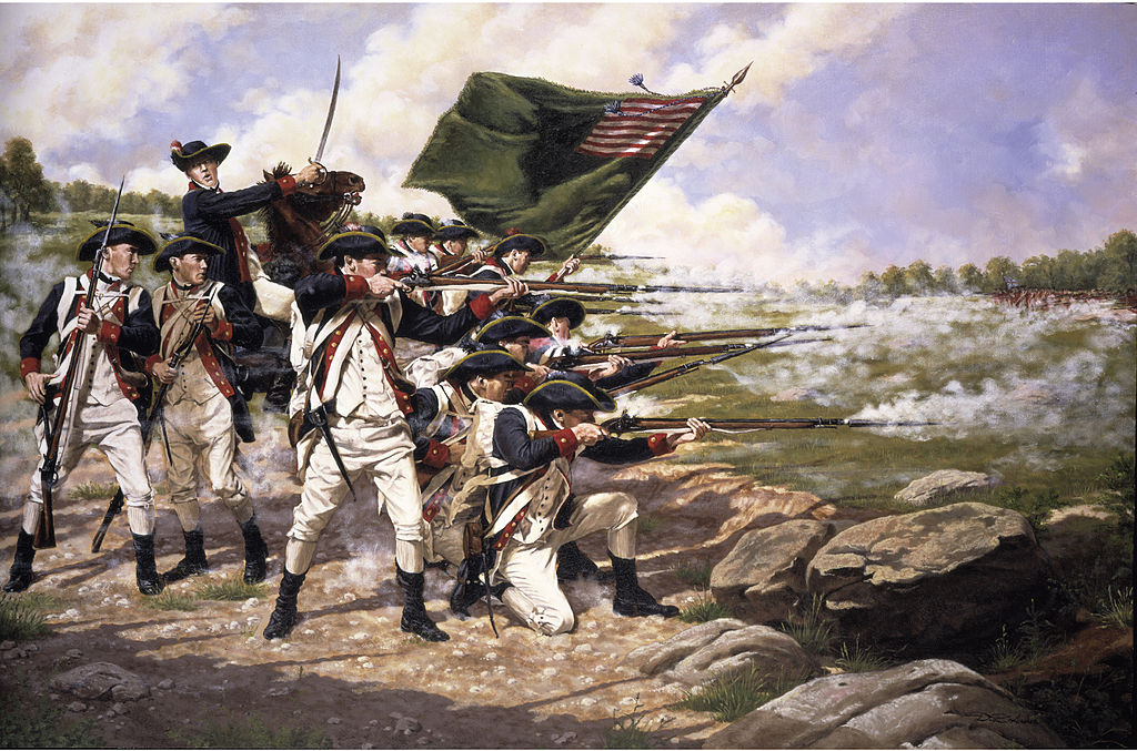 tactics during american revolution