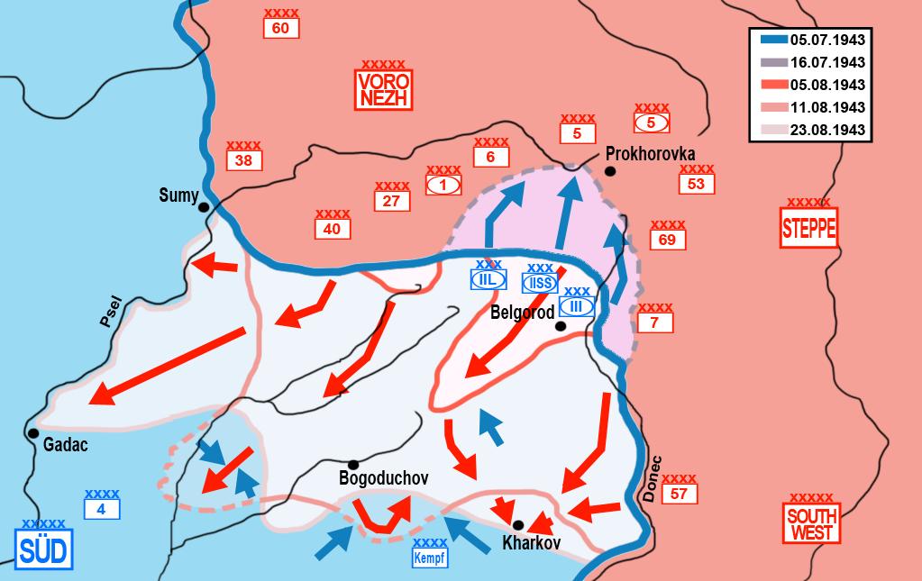 Схема боевых порядков частей