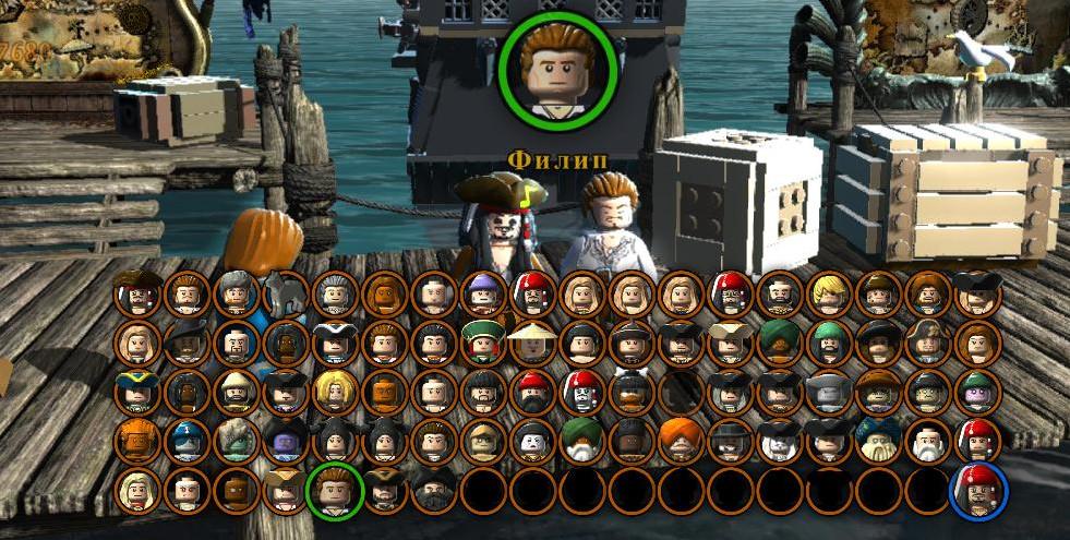 Lego пираты карибского моря игра скачать торрент - фото 2