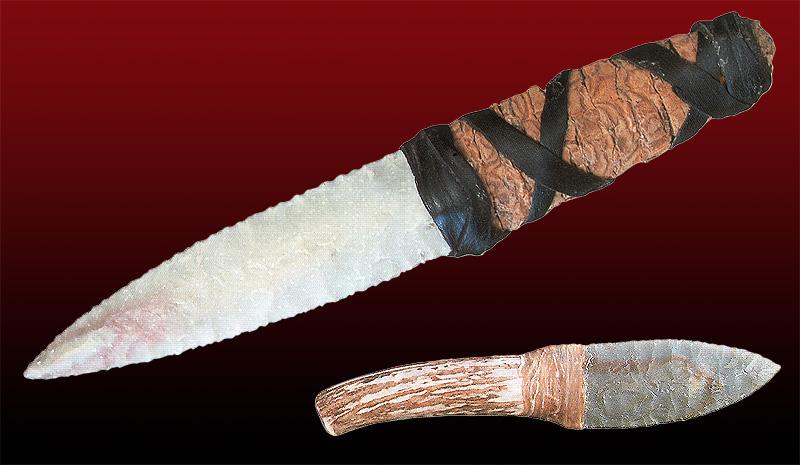 Смотреть как сделать нож из камня