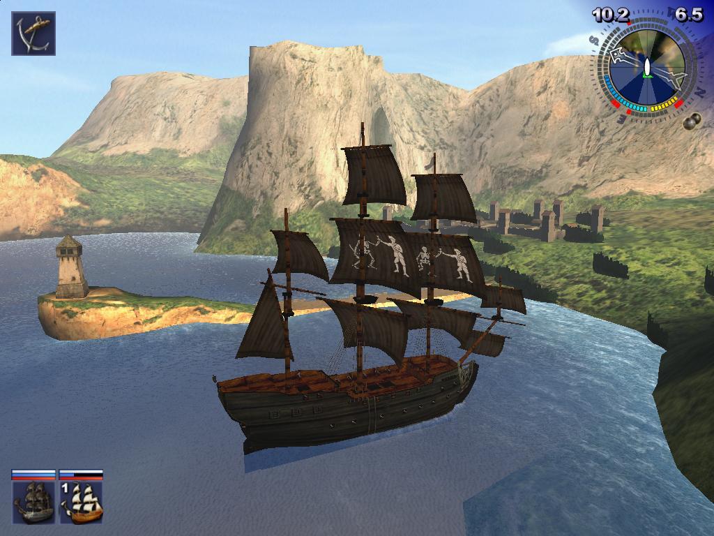 Студия seaward. Ru. Игры про пиратов.