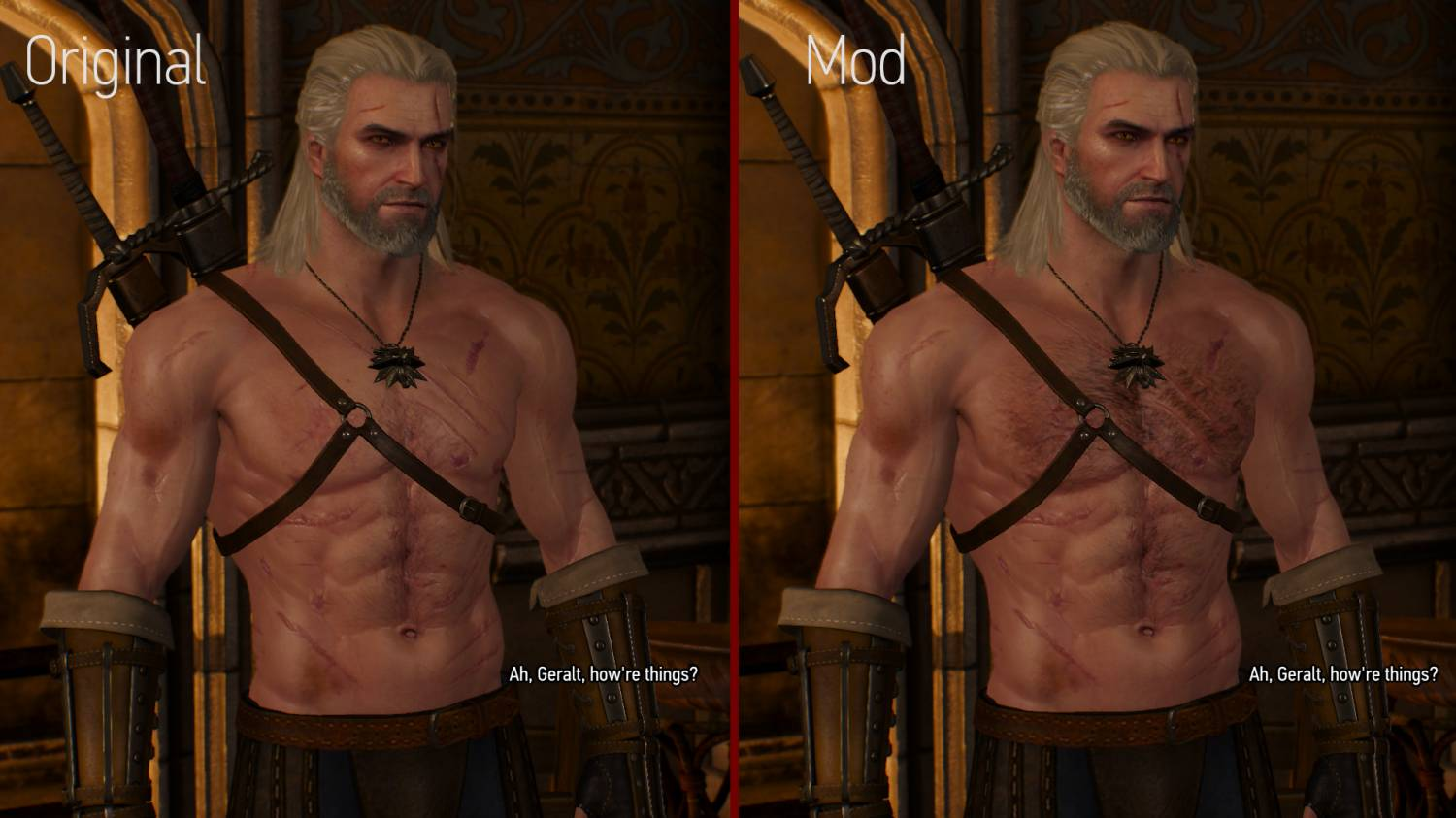 Witcher 2 nudity mod sexy photos