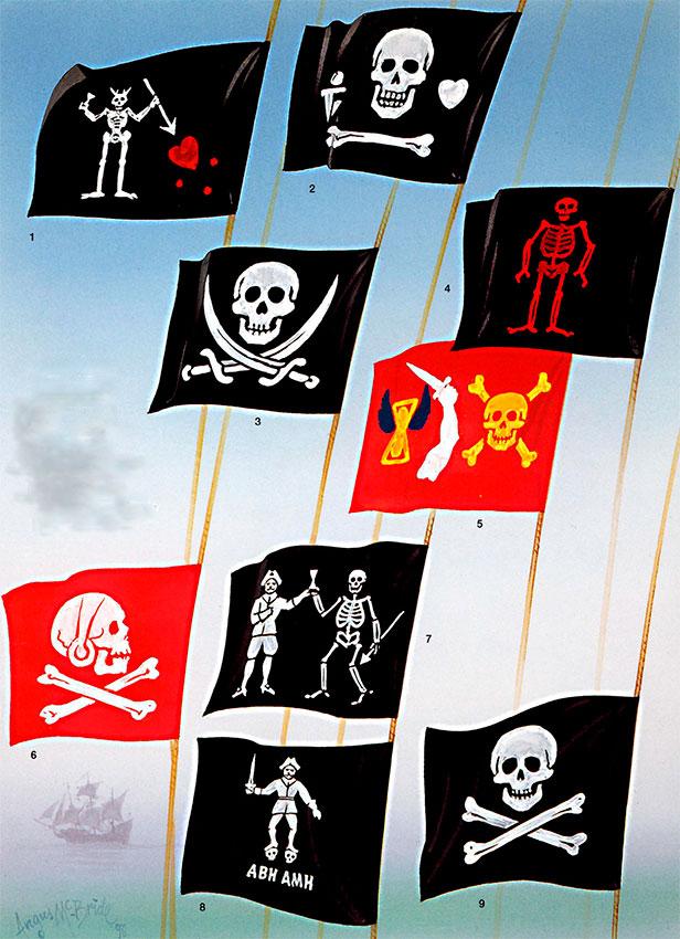 можно ли на лодку повесить пиратский флаг