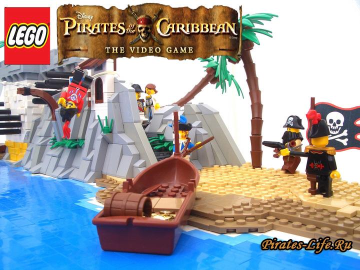 видео лего пираты