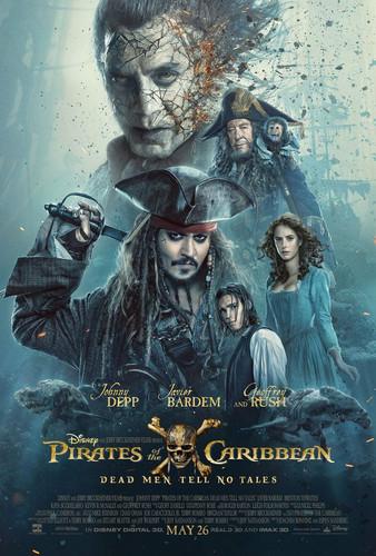Смотреть фильм Пираты Карибского моря: Мертвецы не рассказывают сказки вконтакте