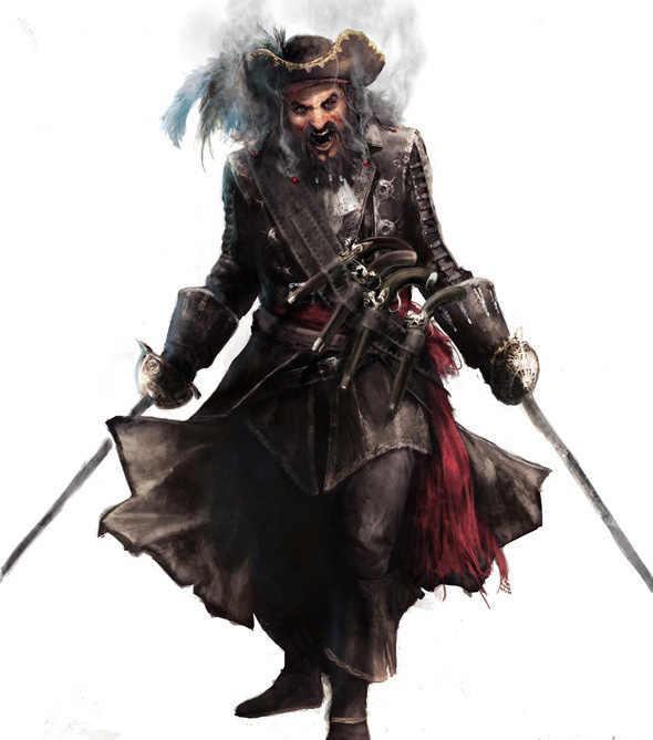 В DLC к Assassin's Creed 4 появится новый герой | 669x590