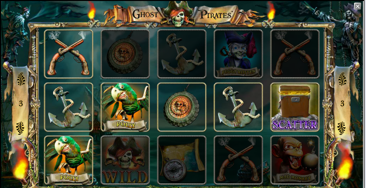 бесплатные автоматы Ghost Pirates