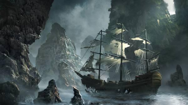 пиратского корабля фото