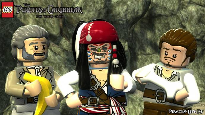 скриншот игры LEGO Pirates of the Caribbean