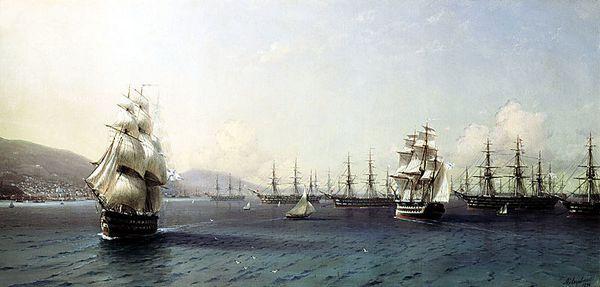 Флот в Феодосии