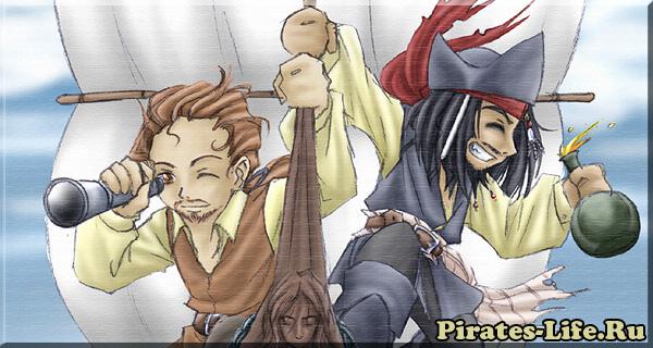 пираты в аниме