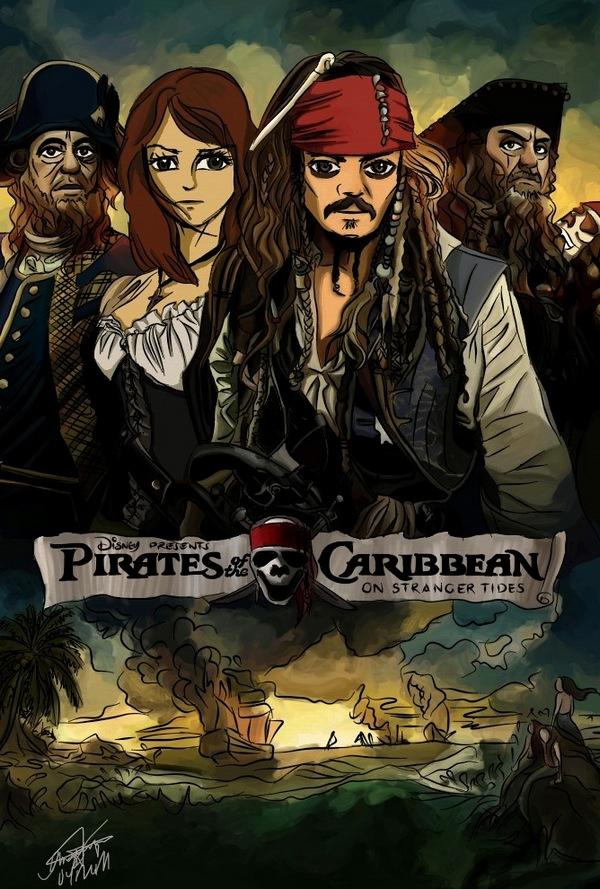 ПКМ 4 постер фильма в аниме стиле