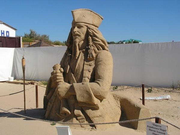 Песочный Джек Воробей