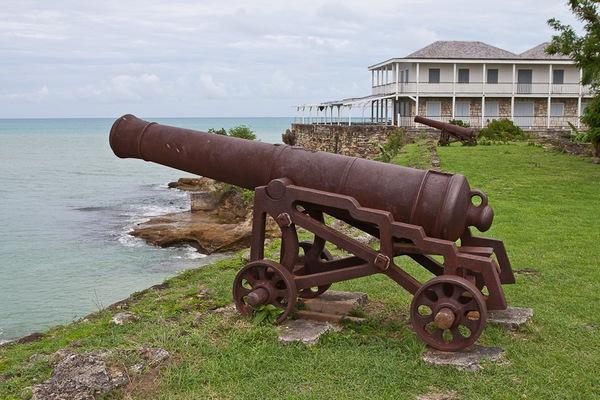 Старый форт города Сент-Джонс