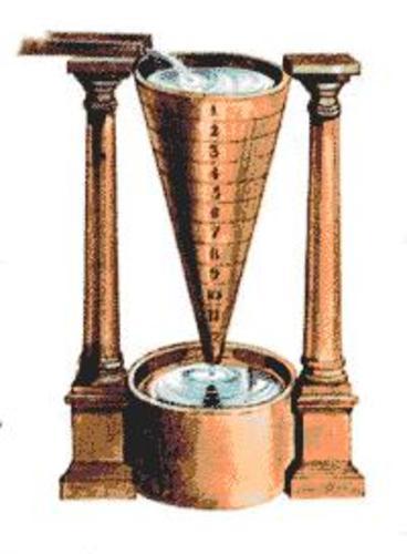 Древние водяные часы