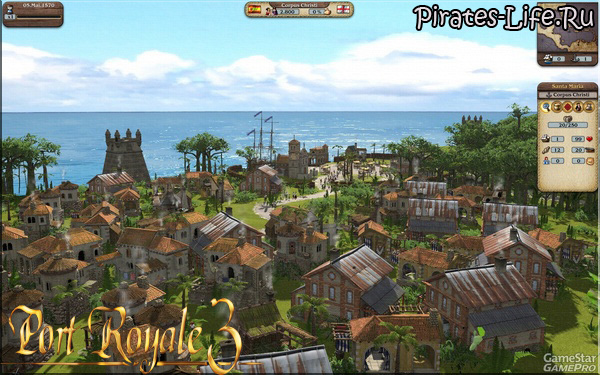 Скриншоты Port Royale 3