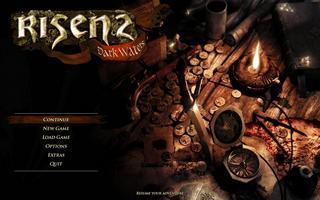 Скриншот главного меню игры Risen 2: Dark Waters