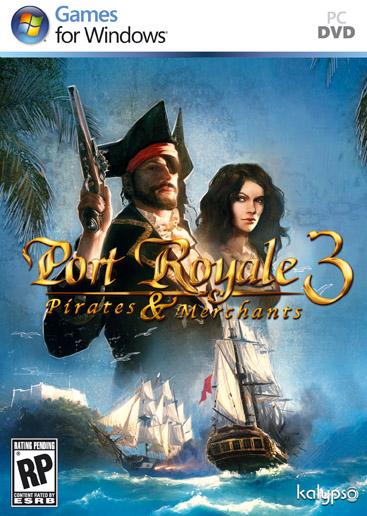 Бокс-арт Port Royale 3