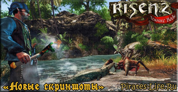 скриншоты Risen 2: Темные Воды
